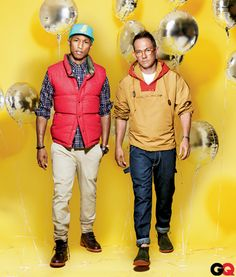 Hitmaker Pharrell Williams and menswear's most talked-about designer, Mark McNairy, have joined forces for this season's buzziest new label, Bee Line for Billionaire Boys Club    Read More http://www.gq.com/style/blogs/the-gq-eye/2012/08/bee-line-pharrell-mark-mcnairy.html#ixzz2TI23PWGW