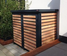 bick•points Müllboxen | Ansichten (Outdoor Wood Paint)