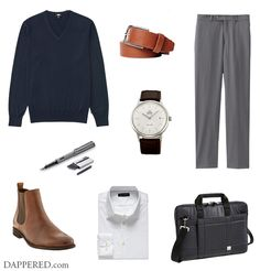 Style Scenario: Simple yet Upgraded Business Casual   Dappered.com