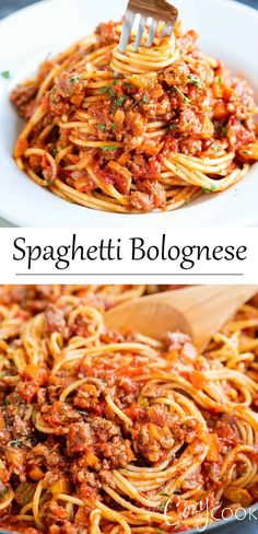 This Spaghetti Bolognese recipe is full of delicious meaty flavor and is so easy to make It s perfect for a quick weekday dinner or an indulgent weekend meal Plus it s freezer-friendly Pasta Recipes, Chicken Recipes, Dinner Recipes, Cooking Recipes, Recipes For Spaghetti, Spaghetti Bolognaise, Cannelloni, Giada De Laurentiis, Orzo