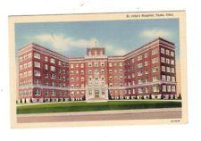 Tulsa, Oklahoma~St John's Hospital~Vintage Postcard