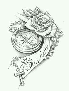 The most popular 30 clock tattoo design ideas for women Clock Tattoo Design, Tattoo Design Drawings, Flower Tattoo Designs, Tattoo Sketches, Band Tattoos, Neue Tattoos, Body Art Tattoos, Sleeve Tattoos, Tatoos