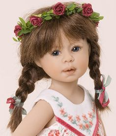 Buy extraordinary Beautiful dolls, 2010 Autumn Leaves & Snowflakes DOLL Collection Heidi Plusczok Dolls, Doll Shop, just-imagine-dolls.com!