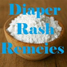 My American Confessions: Monday: Diaper Rash Relief