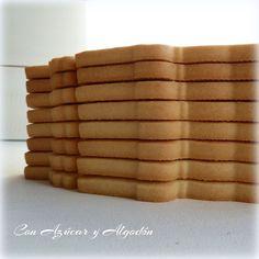 Receta de Galletas de Mantequilla perfectas y lisas... A Decorar!!!