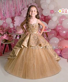 Girls Formal Dresses, Flower Girl Dresses, Long Sleeve Quinceanera Dresses, Pageant Dresses, Floral Applique Dress, Floral Lace, Elegant Ball Gowns, Mary's Bridal, Ball Skirt