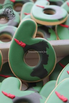 Peter Pan silhouettes cookies - Cake by Droomkoekjes