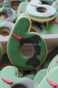 Peter Pan silhouettes cookies - Cake by Droomkoekjes