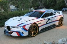 The BMW 3.0 CSL Hommage R is a Nod to BMW's Motorsport History. BMW's CSL Hommage returns.