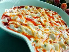 Köz Patlıcanlı Makarna Salatası – Salata meze kanepe tarifleri – Las recetas más prácticas y fáciles Roasted Eggplant Pasta, Roast Eggplant, Healthy Meals For Kids, Healthy Breakfast Recipes, Healthy Recipes, Yummy Recipes, Healthy Smoothies, Healthy Drinks, Good Food