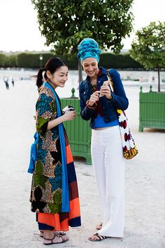 On the Street…Early Evening in The Tuileries, Paris