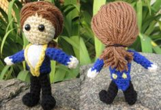 Prince Doll- From Beauty and the Beast Disney - Free Amigurumi Pattern here: http://philaeartes.wordpress.com/2013/05/02/beast-prince-from-beauty-and-the-beast-disney/
