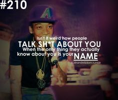 Too bad a guy named Wiz came up with this... Lol