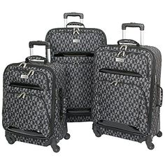 The Greyblack Geoffrey Beene 3piece Hearts Luggage Set *** Read more  at the image link.