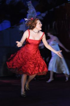 Sarah Nealis as Juliet in Romeo & Juliet, 2009.#calshakes40th
