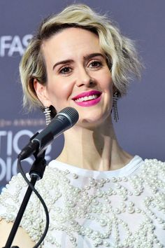 """Sarah Paulson on Meeting Marcia Clark: """"She Did Apologize For the Hair"""""""
