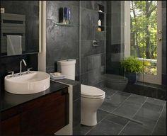 Modern Small Bathroom Design The Basic Components of Modern Bathroom Designs Modern Small Bathroom Design. Incorporating a modern bathroom design will give you a more … Modern Small Bathrooms, Modern Master Bathroom, Modern Bathroom Design, Amazing Bathrooms, Bathroom Designs, Bathroom Small, Simple Bathroom, White Bathrooms, Bathroom Black