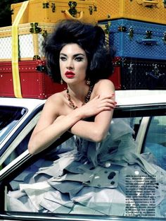 Vogue Italia - Extravagant, Sophisticated Lady