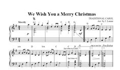 $1.50 Harp Music: We Wish You a Merry Christmas