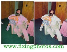 Photo Repair Service Since 2003. Our Photo Repair Work Is 100% guaranteed. Visit www.fixingphotos.com  Free Photo Repair Quotes!