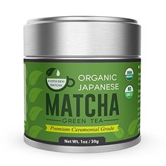 Organic Matcha Green Tea Powder - Premium Ceremonial Grade - Japanese 30g [1.06oz] by Kyoto Dew Matcha * Learn more by visiting the image link.