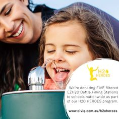 We will be donating Five filtered drinking water fountains for schools nationwide as part of our Heroes program. Drinking Fountain, Healthy Water, Filling Station, International Day, Mother Teresa, Programming, Schools, Sustainability, Competition