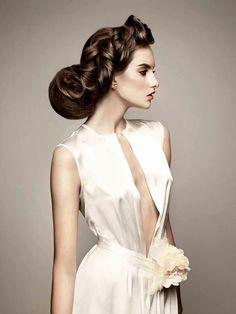 Patra Mechurova  -) Editorial Hair e5d7435be