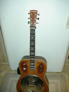 RQ JONES Custom Built Proto Type Resonator (Dobro) Guitar
