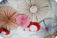 How to Make Paper Rosettes!