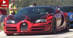 Bespoke Veyron Grand Sport Vitesse Hits 230mph On Idaho Highway #Bugatti #Bugatti_Veyron