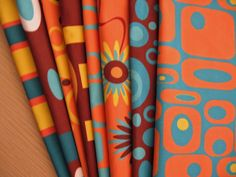 Crash Pad Designs Retro Fabrics - available by the yard!