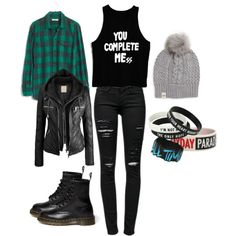 Luke Hemmings Inspired Outfit by allinichole on Polyvore 5sos Inspired Outfits, 5sos Outfits, 5sos Concert Outfit, Outfits For Teens, Casual Outfits, Cute Outfits, School Outfits, Punk Fashion, Grunge Fashion