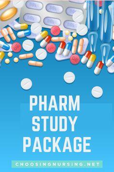 Pharm Study Package: How To Master Pharmacology Trainings! Nursing Apps, Nursing Articles, Nursing Exam, Nursing Assessment, Pharmacology Nursing, Nursing School Tips, Nursing Career, Surgical Nursing, Nursing Programs