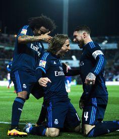 Ramos and Modric <3