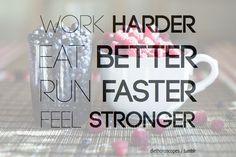 Keep On Going Hard.