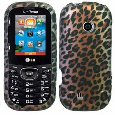 Amazon.com: Hard Shell Protective Snap-On Case Cover For LG Cosmos 3 - Brown Leopard + Tool: Cell Phones & Accessories
