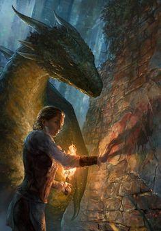 Dragon Rider by Randy Vargas