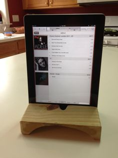How to Make an iPad Stand With Natural Speaker Amplifier - Snapguide