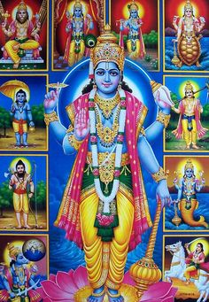 Vaikunta Ekadashi is also called Mukkoti Ekadashi and on this day the gate of Lord Vishnu's inner sanctum is opened. The energies of the lord are very close to earth on this day. Krishna Art, Lord Krishna, Radhe Krishna, Krishna Images, Lord Shiva, Ganesh Images, Krishna Painting, Shree Krishna, Hanuman