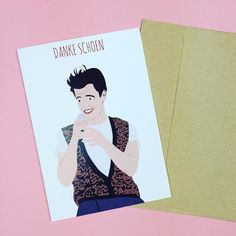 """""""Danke Schoen Darling Danke Schoen""""  You can get 20% off everything ALL WEEK! Use code 'HELLO' at checkout! Shop this Ferris Bueller Thank You card at http://ift.tt/1ihQVKN  . . .  #shopping #sale #boutique #indie #shopsmall #smallbusiness #girlboss #shop #onlineshop #onlinestore #clothing #fashion #gifts #gift #stationery #stationeryporn #stationeryaddict  #card #cards #birthdaycard #greetingscard #greetingscards #birthdaycard #saveferris #ferrisbueller #ferrisbuellersdayoff #ferris #80s…"""