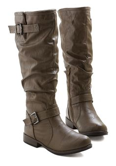 Movie Along Boot in Slate Brown, @ModCloth