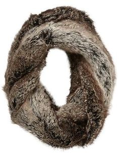 If I lived somewhere colder this would be a must have. Tinley Road Faux Fur Infinity Scarf | Piperlime