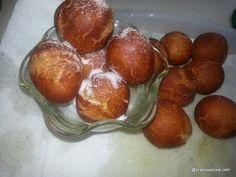 Cameroonian Gateau Recipe Cameroon Food, Let It Rise, Oil For Deep Frying, Recipe 21, Pretzel Bites, Cinnamon Rolls, Good Food, Snacks, Cooking