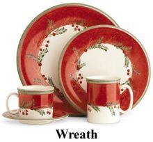 Stylish Christmas Dinnerware Sets for the Holidays | Christmas ...
