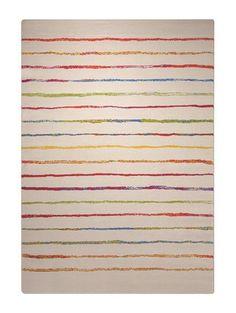Kinderteppich Joyful Stripes