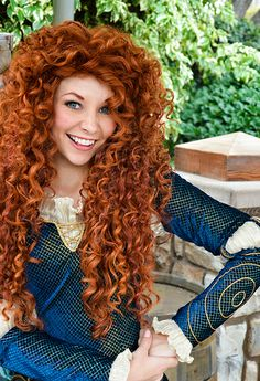 Merida from Brave Walt Disney Cinderella, Merida Disney, Disney Love, Disney Magic, Epic Cosplay, Disney Cosplay, Disney Costumes, Walt Disney Pictures Movies, Disney Pics