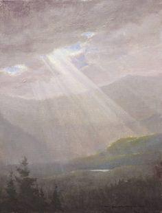 """""""Revelation, Proverbs 31:9"""" 9x12 oil on linen > Dawn and Dusk > Portfolio > Thomas Kegler"""