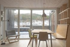 All You Need To Know About The Riba House Of The Year 2018 : Lochside House The Riba house of the year 2018 goes to lochside house this year for being very beautiful home. Here is the wonderful pictures of the lochside house for you to see! Grand Designs Houses, Cottage Names, Cottages Scotland, Light Hardwood Floors, House Names, London House, Green Architecture, Minimalist Interior, Large Windows