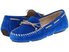 Vera Wang Lavender Label Dorian Loafers in Lapis Blue [$198 at Perch]