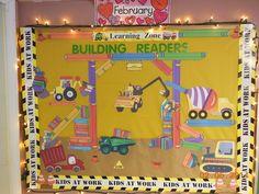 Building Readers -Construction bulletin board